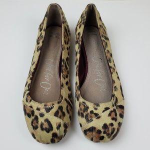 Women's TOMS Leopard Print Gisele Flats